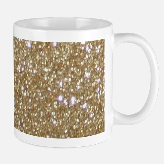 Girly Glam Gold Glitters Mugs