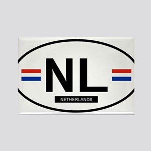 Netherlands 2F Rectangle Magnet