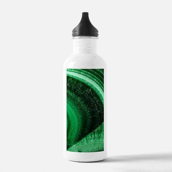 bohemian tribal gemsto Water Bottle