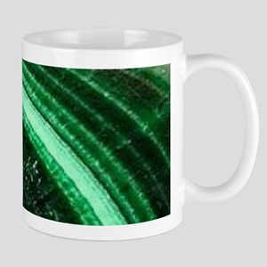 bohemian tribal gemstone emerald Mugs