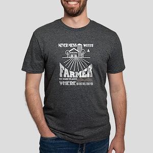 Never Mess With A Farmer T Shirt T-Shirt