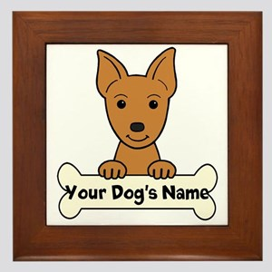 Personalized Min Pin Framed Tile