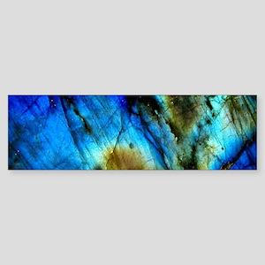tribal bohemian marble turquoise Bumper Sticker