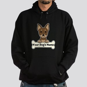 Personalized Min Pin Hoodie (dark)