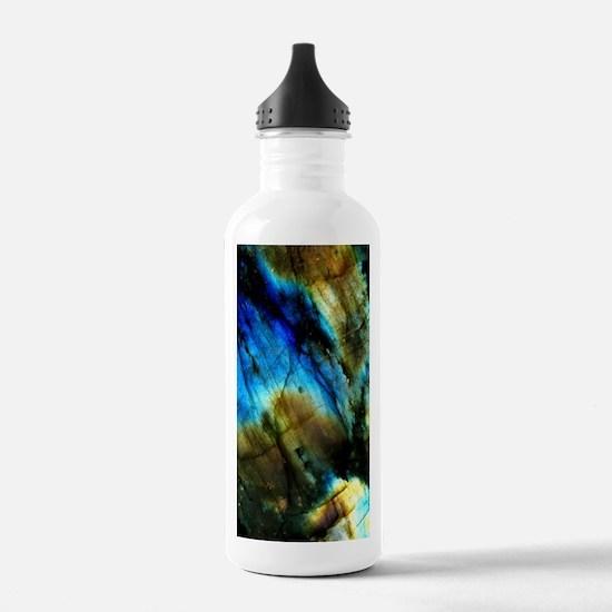 tribal bohemian marble Water Bottle