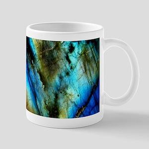 tribal bohemian marble turquoise Mugs
