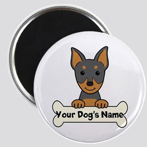 Personalized Min Pin Magnet