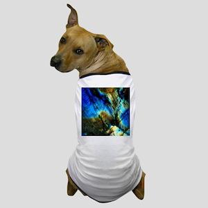 tribal bohemian marble turquoise Dog T-Shirt