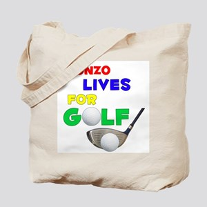 Alonzo Lives for Golf - Tote Bag