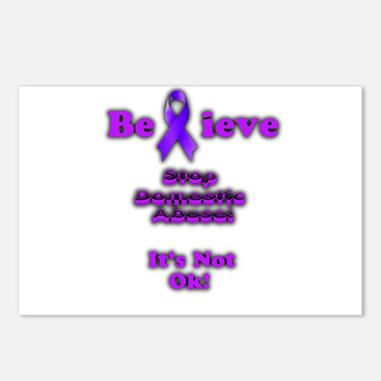 Domestic Abuse Awareness Postcards (Package of 8)