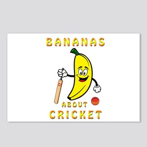 Bananas About Cricket Postcards (Package of 8)
