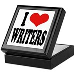 I Love Writers Keepsake Box