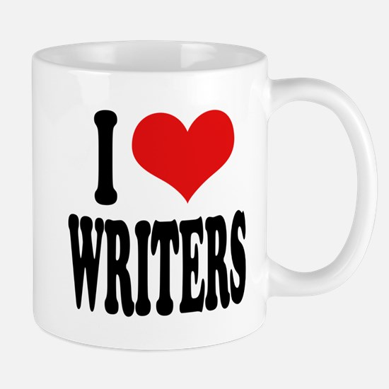 I Love Writers Mug
