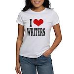 I Love Writers Women's T-Shirt
