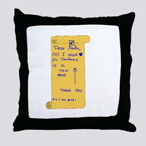Epeeist Wishlist Throw Pillow