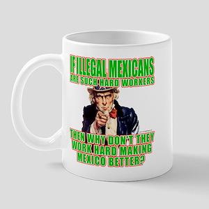 Hard Working Illegals? Mug