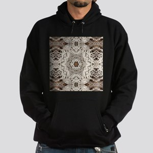 Boho tribal bohemian pattern Hoodie (dark)