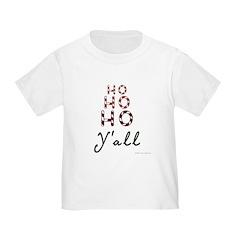 Ho ho ho, y'all T