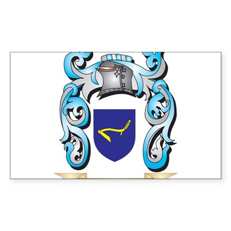 Hobcraft Coat of Arms - Family Crest Sticker