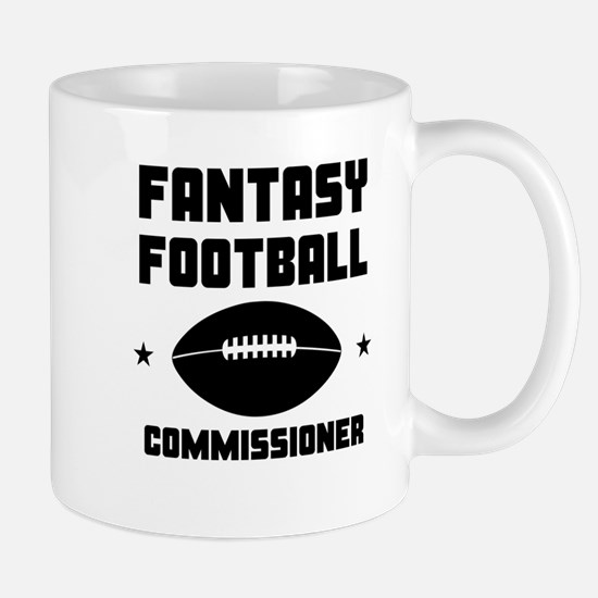 Fantasy Football Commissioner Mugs