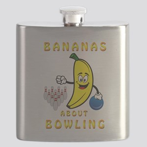 Bananas About Bowling Flask