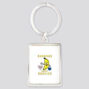 Bananas About Bowling Keychains