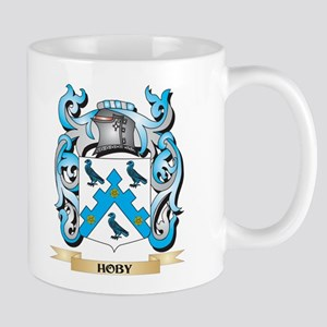 Hoby Coat of Arms - Family Crest Mugs