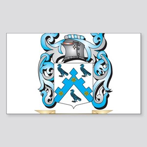 Hoby Coat of Arms - Family Crest Sticker