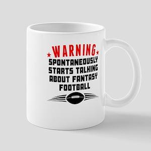 Talking About Fantasy Football Mugs