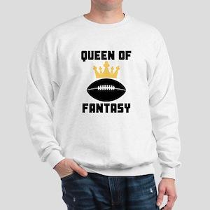 Queen Of Fantasy Football Sweatshirt