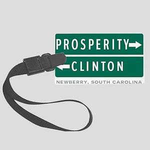 Prosperity Clinton Newberry SC R Large Luggage Tag