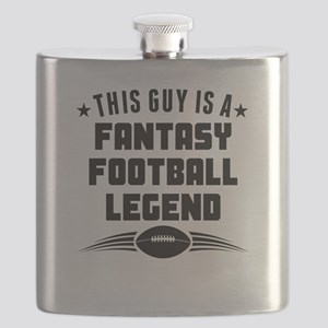 This Guy Is A Fantasy Football Legend Flask