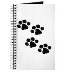 Pet Paw Prints Journal