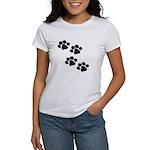 Pet Paw Prints Women's T-Shirt
