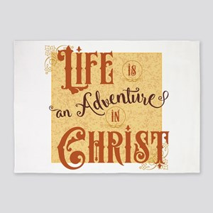 Adventure in Christ 5'x7'Area Rug