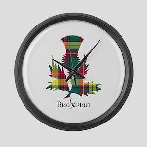 Thistle - Buchanan Large Wall Clock
