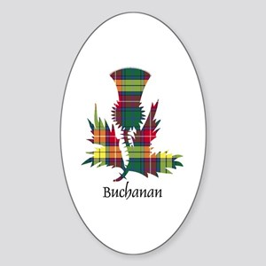 Thistle - Buchanan Sticker (Oval)
