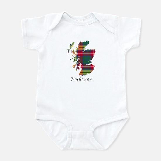 Map - Buchanan Infant Bodysuit