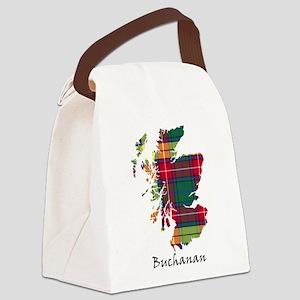 Map - Buchanan Canvas Lunch Bag