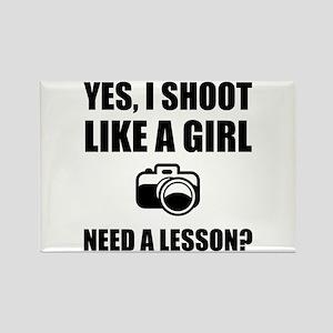 Like A Girl Photography Shoot Magnets