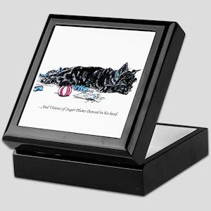 Scottish Terrier Puppy Vision Keepsake Box