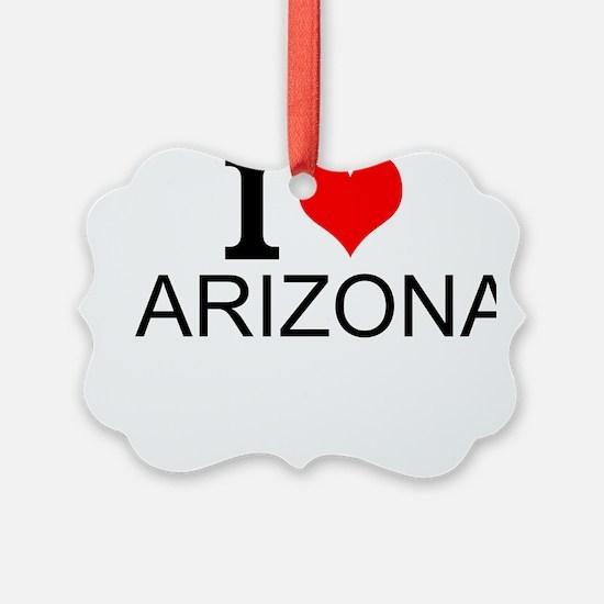 I Love Arizona Ornament
