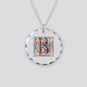 Monogram - Buchanan Necklace Circle Charm