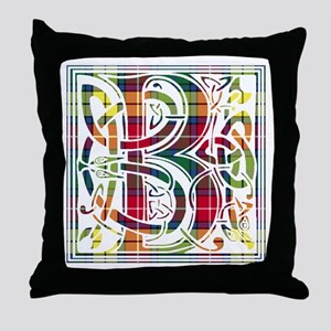 Monogram - Buchanan Throw Pillow