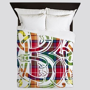 Monogram - Buchanan Queen Duvet