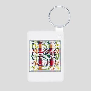 Monogram - Buchanan Aluminum Photo Keychain