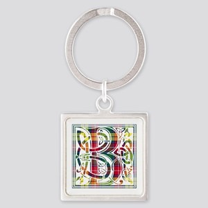 Monogram - Buchanan Square Keychain