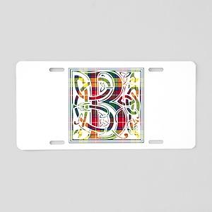 Monogram - Buchanan Aluminum License Plate
