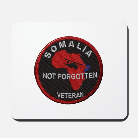 Somalia Veteran Mousepad