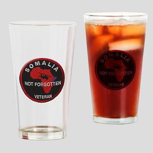 Somalia Veteran Drinking Glass